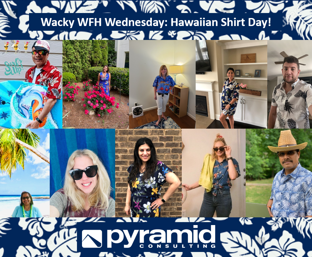 Wacky WFH Wednesday: Hawaiian Shirt Day