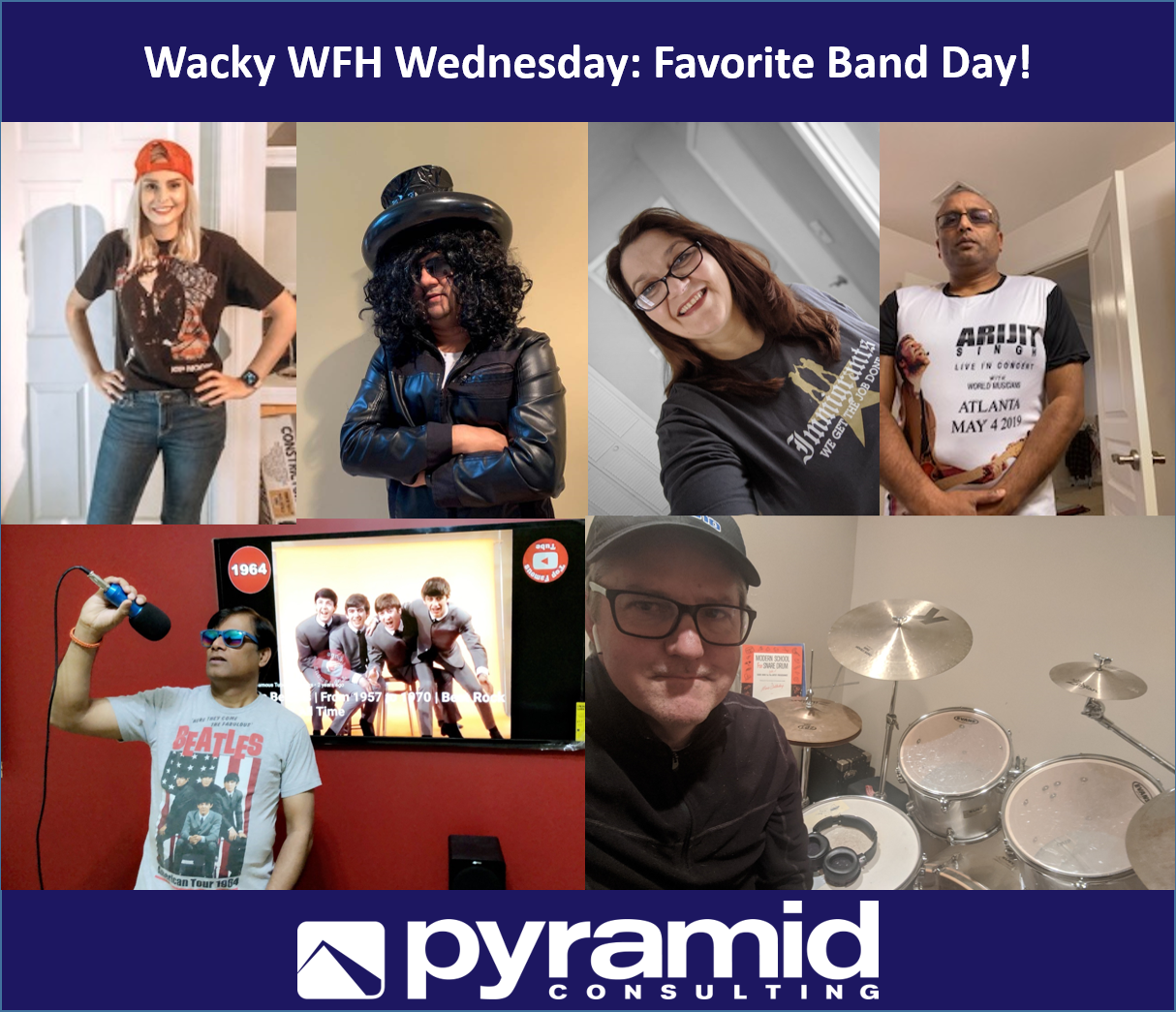Wacky WFH Wednesday: Favorite Band